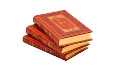 Григорий Адамов. Собрание сочинений в 3 томах. Подарочные книги в кожаном переплете