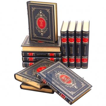 Купить книгу Библиотека генерального директора в 12 томах. Подарочные книги в кожаном переплете в Москве - интернет-магазин книг Добрые Традиции