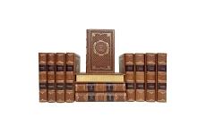 А. П. Чехов. Собрание сочинений в 12 томах. Подарочные книги в кожаном переплёте.