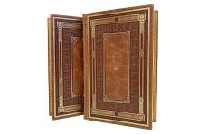 Теодор Драйзер. Собрание сочинений в 4 томах. Подарочные книги в кожаном переплёте