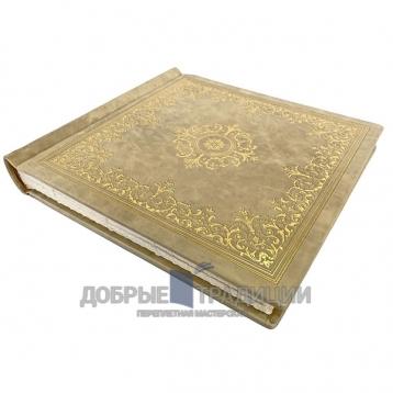 Купить книгу Фотоальбом ручной работы из натуральной кожи (330х360мм) в Москве - интернет-магазин книг Добрые Традиции
