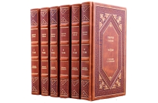 Генрих Гейне. Полное собрание сочинений в 6 томах. Подарочные книги в кожаном переплёте