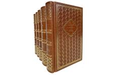 О. Генри. Собрание сочинений в 5 томах. Подарочные книги в кожаном переплёте