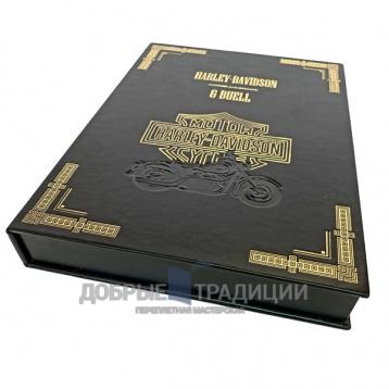 Купить книгу Harley-Davidson & Buell. Подарочная книга в кожаном переплёте в Москве - интернет-магазин книг Добрые Традиции