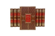 Эрнест Хемингуэй. Собрание сочинений в 11 томах. Подарочные книги в кожаном переплете
