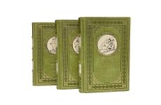 Туве Янссон. Муми-тролль и все-все-все в 3 томах. Подарочные книги в кожаном переплёте.