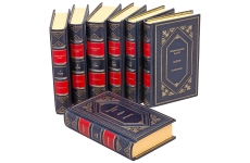 Иммануил Кант. Сочинения в 6 томах (комплект из 7 книг). Подарочные книги в кожаном переплете