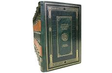Джеймс Фенимор Купер. Собрание сочинений в 9 томах. Подарочные книги в кожаном переплёте
