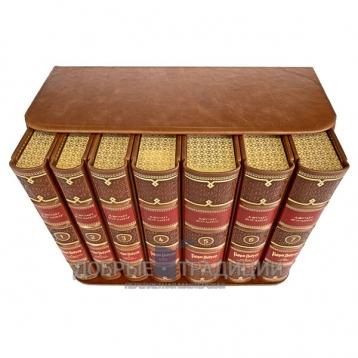 Купить книгу Гарри Поттер (7 книг) в кожаном переплёте и подарочном коробе. Джоан Роулинг в Москве - интернет-магазин книг Добрые Традиции