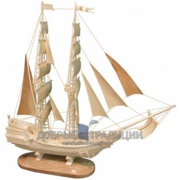 """Купить книгу """"Парусник"""" - Модель корабля из бивня мамонта в Москве - интернет-магазин книг Добрые Традиции"""