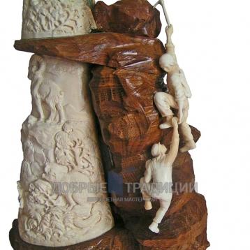 """Купить книгу """"Скалолазка"""" - Подарочная скульптура из бивня мамонта в Москве - интернет-магазин книг Добрые Традиции"""